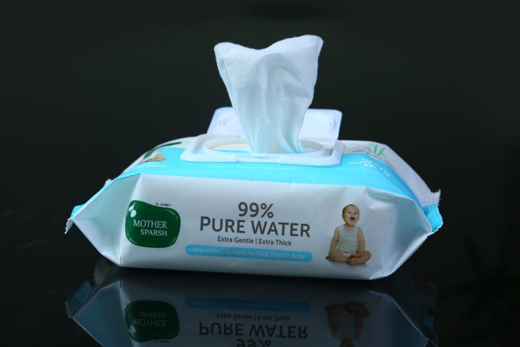 99% pure water wipes Mother Sparsh