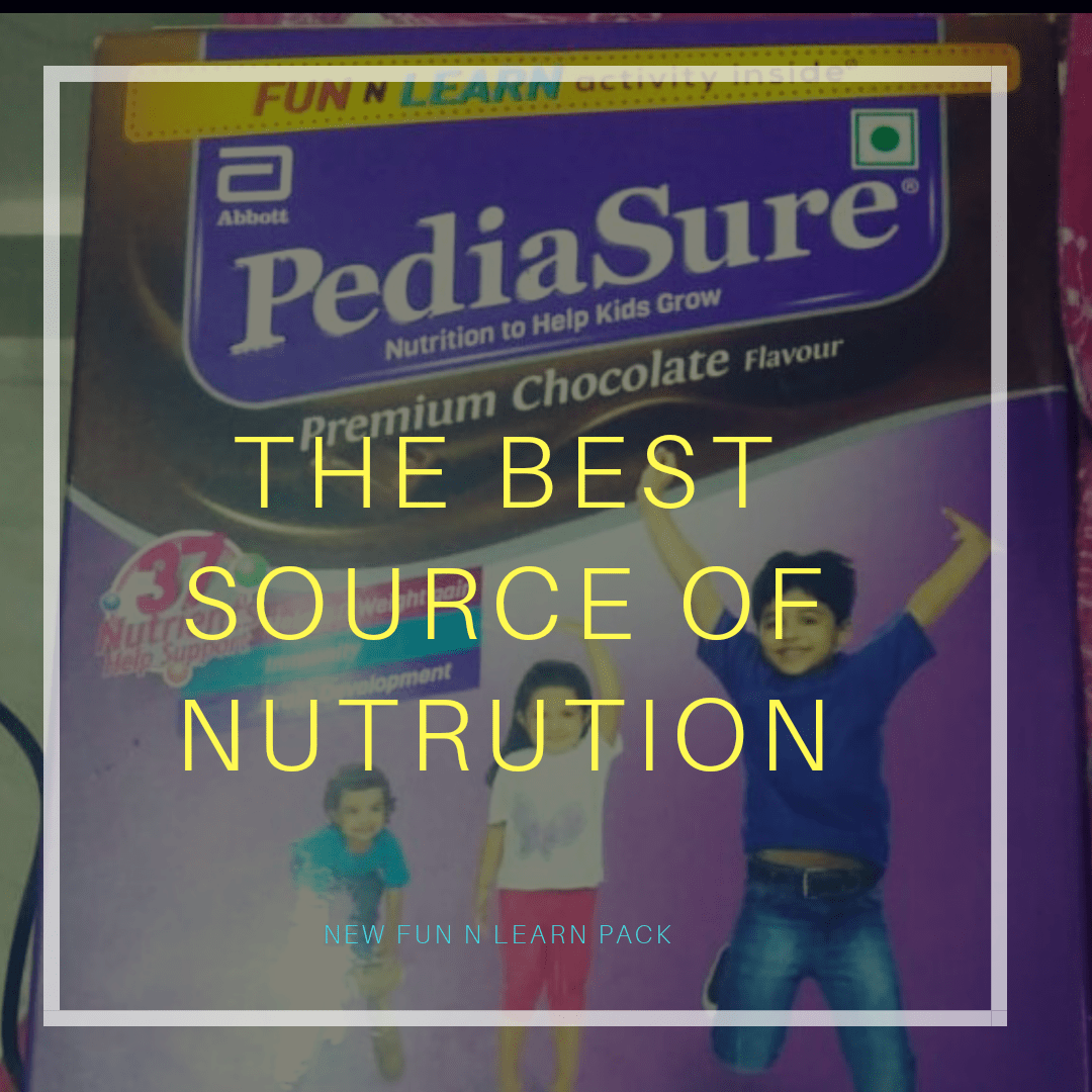 Why You Must introduce PediaSure At Least Once In your child's daily diet.