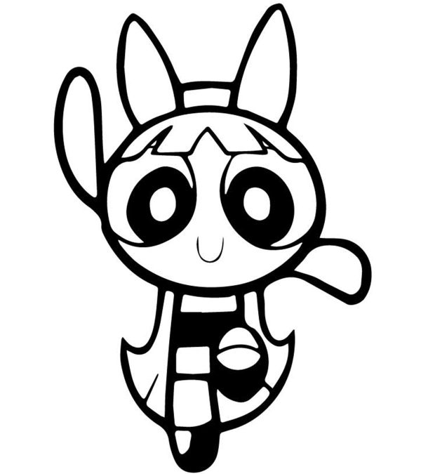 power puff girls coloring pages # 0