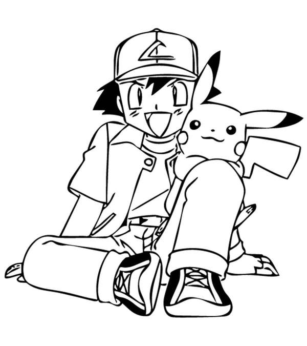 pokeman coloring pages # 1
