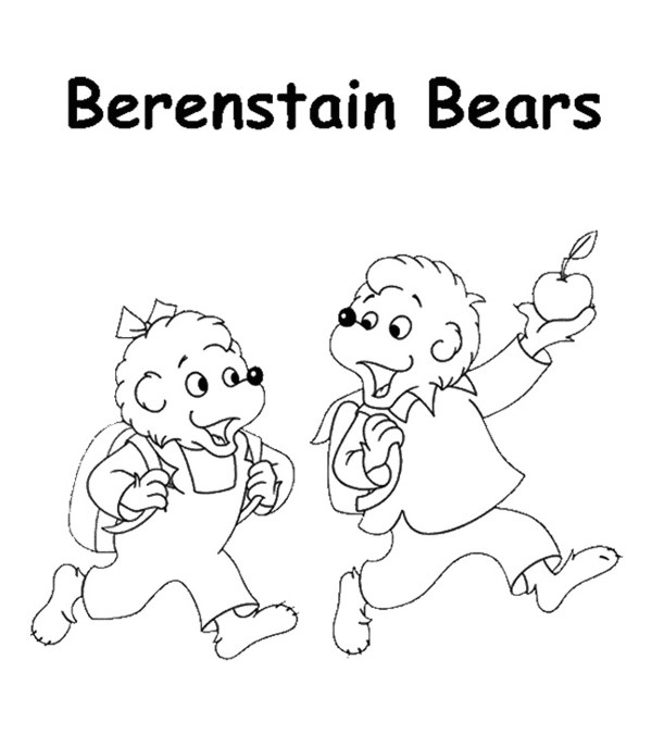 bears coloring pages # 6