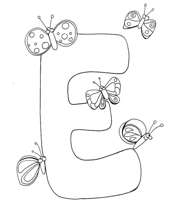 letters coloring pages # 11