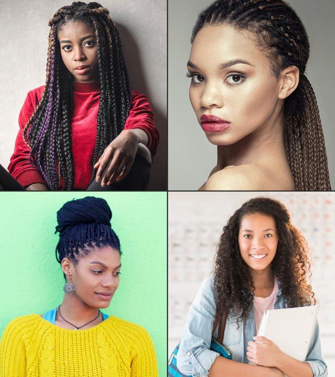 15 cute hairstyles for black teenage girls
