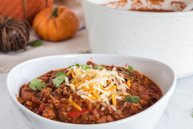 Keto Pumpkin Chili