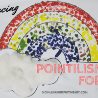 Easy Pointilism Art for Kids