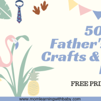 50+ Father's Day Handmade Gifts/ Crafts for Kids of all ages - FREE PRINTABLES