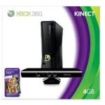 Xbox 360 4gb Bundle with Kinect, Only $224.99!!