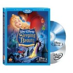 Sleeping Beauty (Two-Disc Platinum Edition Blu-ray/DVD Combo – $4.38 (USED)