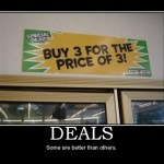 Humor on Deals