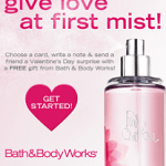 FREE Signature Collection Travel Size Item at Bath and Body Works, Feb 14-20th!