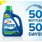Purex is Giving Away 2500 Triple Action Detergent Bottles