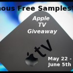 Famous FREE Samples' Apple TV Giveaway Event!