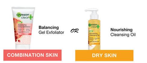FREE Sample of Garnier Cleansing Oil or Gel Exfoliator