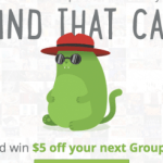 Groupon Cat Challenge Coupon: $5 Off Any $5+ Purchase (Facebook Required)