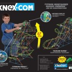K'nex Typhoon Frenzy Roller Coaster Building Set is $25