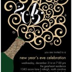 New Year's Party Invitation Sale at Tiny Prints!