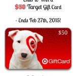 Win a $50 Target Gift Card – Giveaway Ends 2/27!