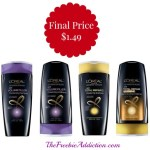 Big Bottles of L'Oreal Advanced Hair Care Shampoos are $1.49 at Target! (reg $5.99)