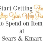 Get FREE Surprise Points to Spend When Signing Up For Sears Shop Your Way