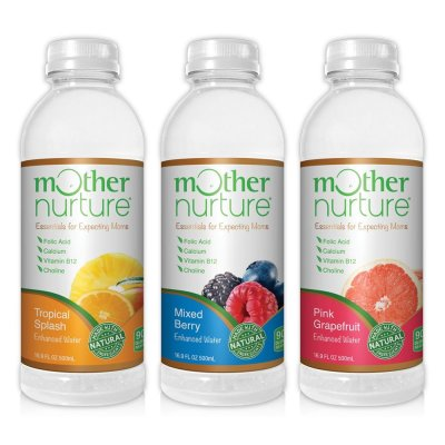 mother nurture enhanced water