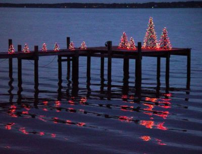 crab pot christmas trees