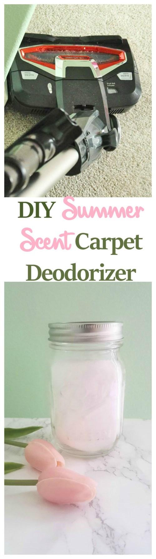 DIY Summer Scent Carpet Deodorizer