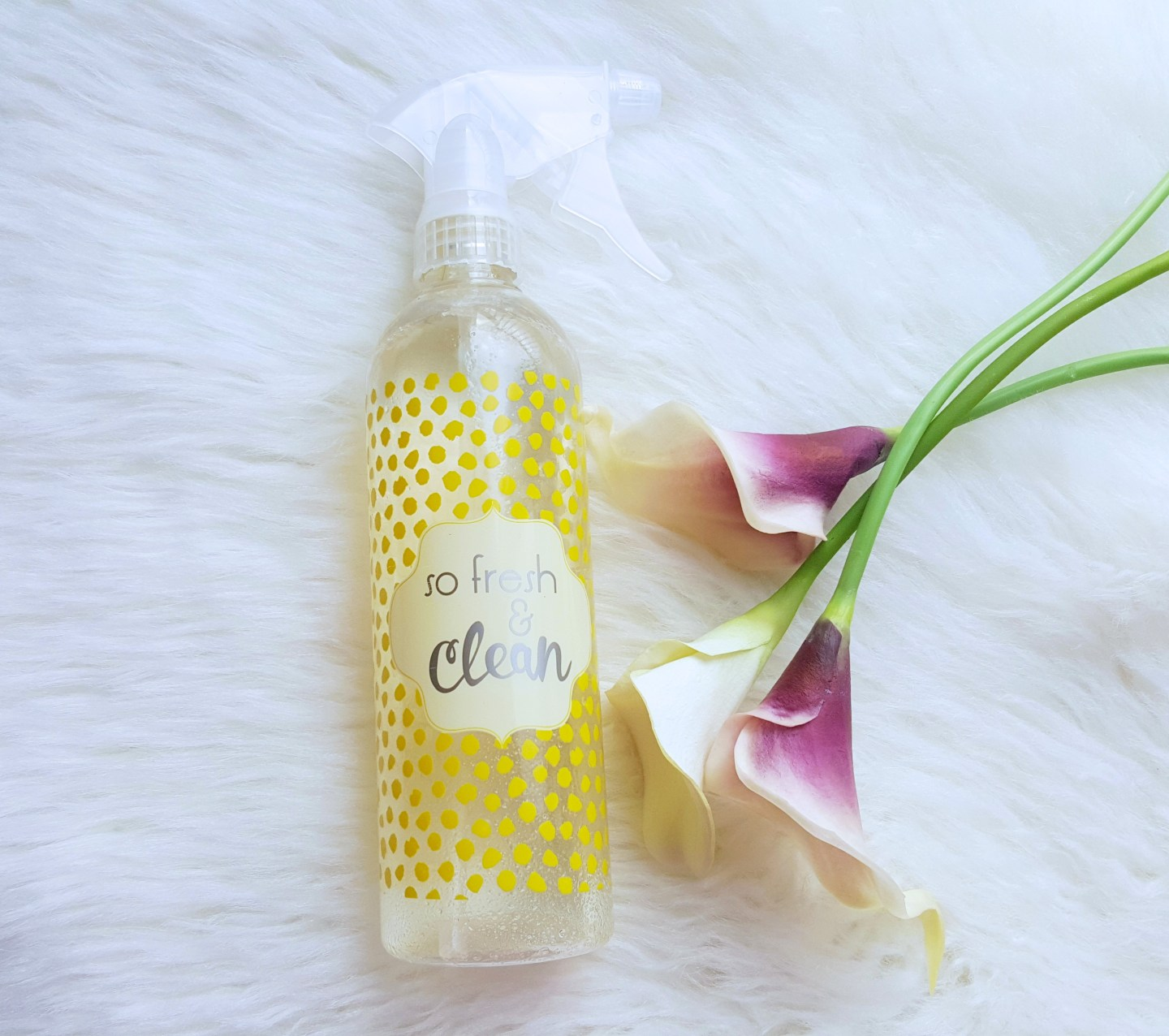 DIY All Natural Cleaning Spray For Any Surface