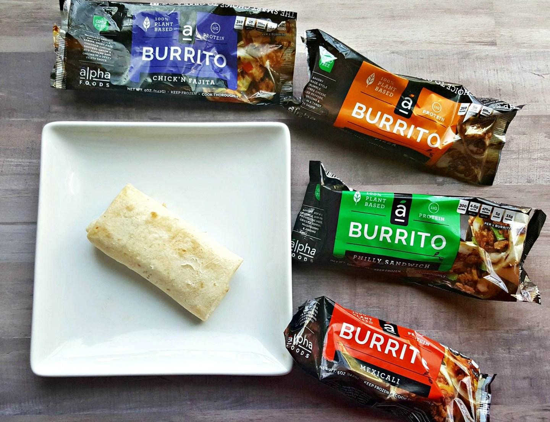 Tasty Vegan Burritos From Alpha Foods