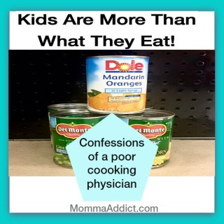 Dr. Momma addresses the topic of childhood nutrition and the possible shame parents feel about their choices, but kids are more than what they eat.
