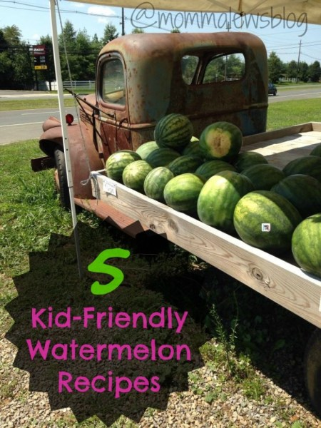 5 Kid-Friendly Watermelon Recipes