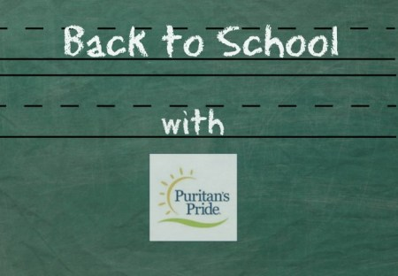 Back to School with Puritan's Pride