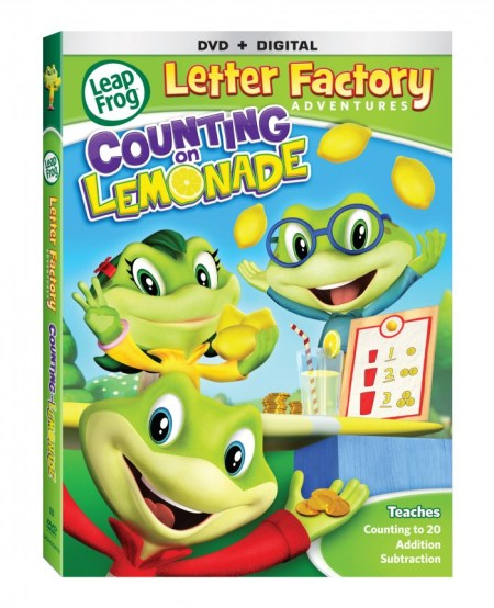 Leap Frog Letter Factory Adventures: Counting on Lemonade
