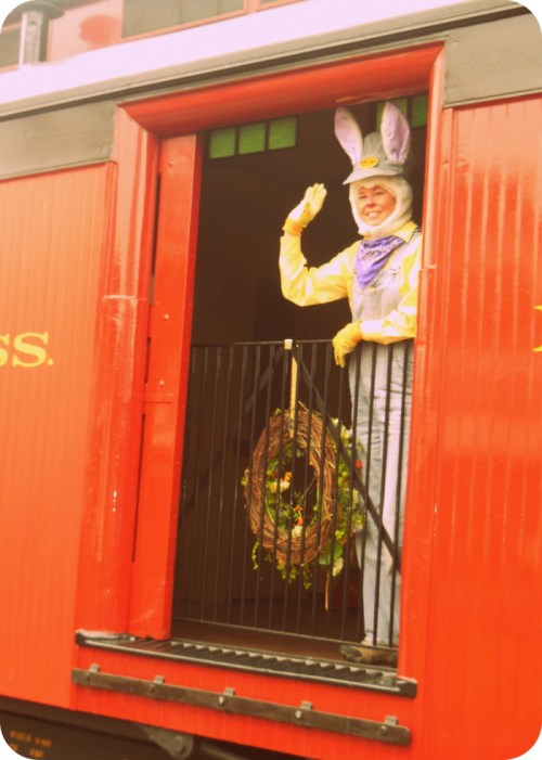 Strasburg Railroad Easter Bunny Train