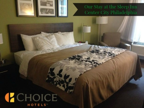 Our Stay at the Choice Hotels Sleep Inn Center City Philadelphia