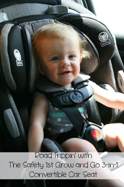 The Safety 1st Grow and Go 3-in-1 Convertible Car Seat