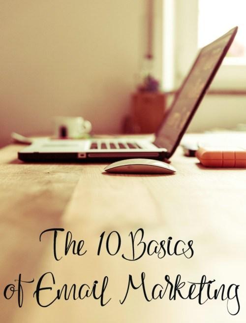 The 10 Basics of Email Marketing