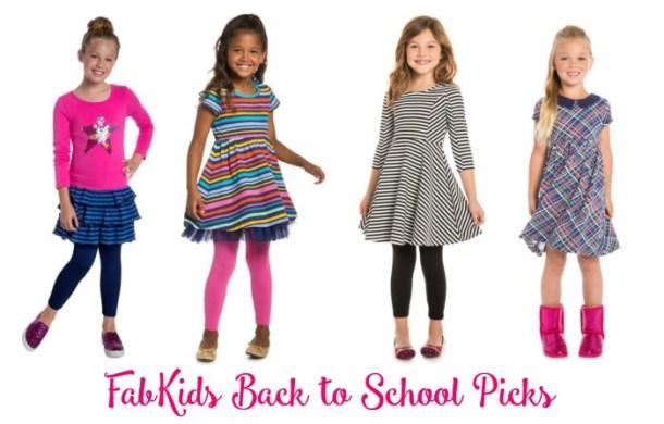 FabKids Back to School Looks