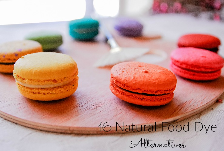 16 Natural Food Dye Alternatives - Momma Lew