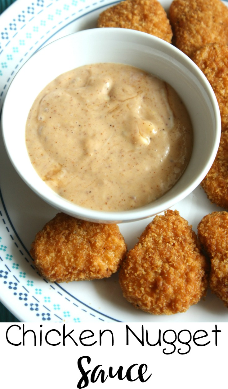 Easy Chicken Nugget Sauce