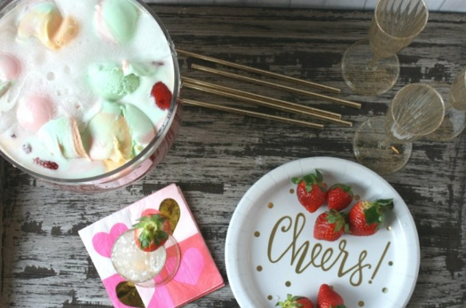 7UP Sherbet Punch recipe