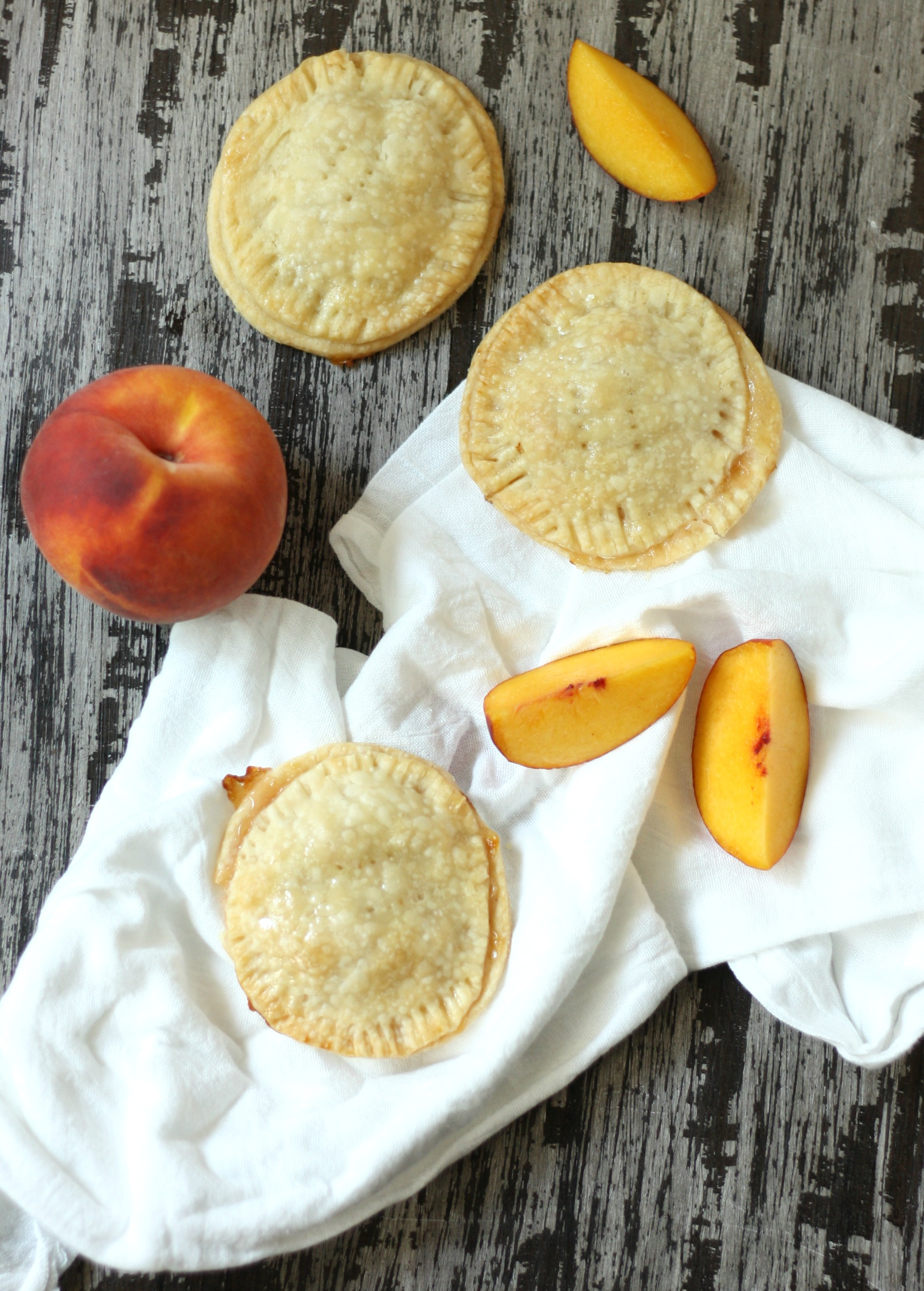peach pie crust