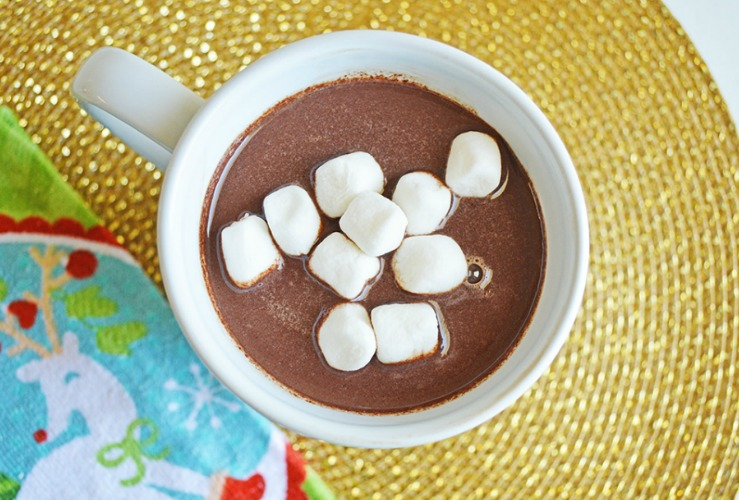 Sick Just Got Real on a Snow Day: Crock Pot Hot Chocolate Recipe