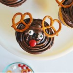 Rudolph the Red Nosed Reindeer Cupcakes