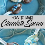 How to Make Chocolate Spoons
