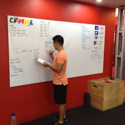 Cross Fit and Bikram Yoga a marriage made in Alabang
