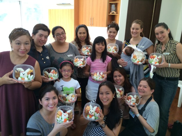 Thanks everyone for coming and learning about how to pack fun bento boxes for your kids!