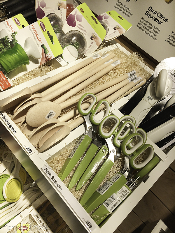 In my dream house, I have an herb garden close to the kitchen. These herb cutting scissors would make a great gift in a basket with some potted herbs for your  friend who loves to cook! (