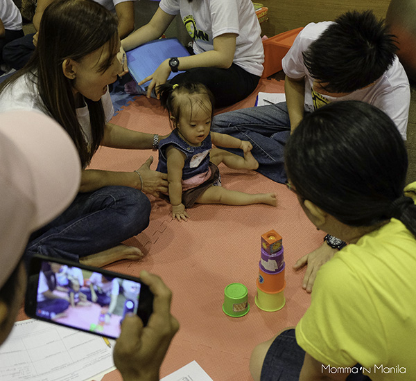 Communicare helped asses babies present, and provided some home therapies for parents to work on with their children.