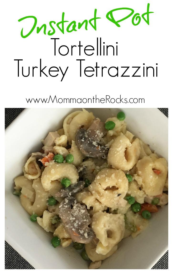 Instant Pot Turkey Tetrazzini