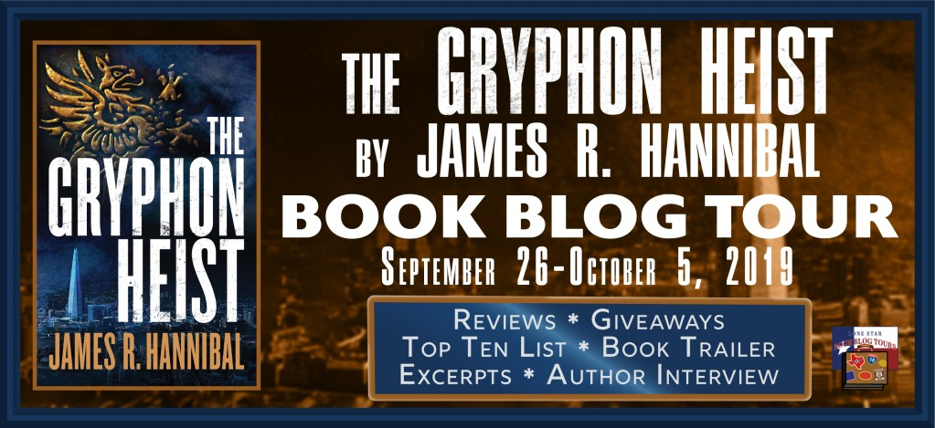 The Gryphon Heist, a fast-paced, tech-gadget spy novel which will keep you guessing who is on whose side. #TheGryphonHeist #spy #thriller #giveaway
